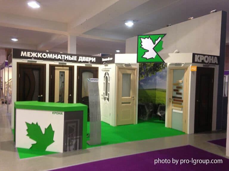 Стенд Крона на выставке Design and Decor Ленэкспо