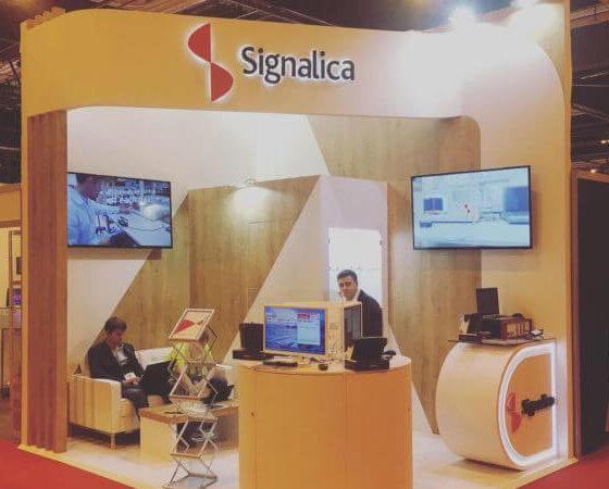 Стенд Signalica на выставке European Microwave Week