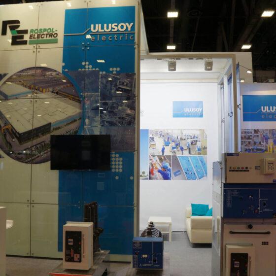 Стенд Ulusoy electric на выставке Энергетика и Электротехника
