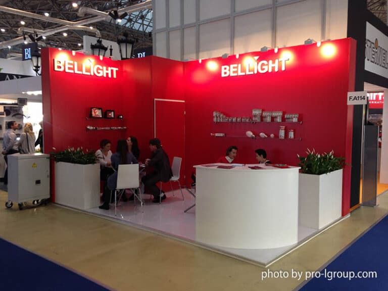 Стенд Bellight на выставке Interlight Russia