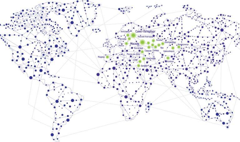 Карта наших работ