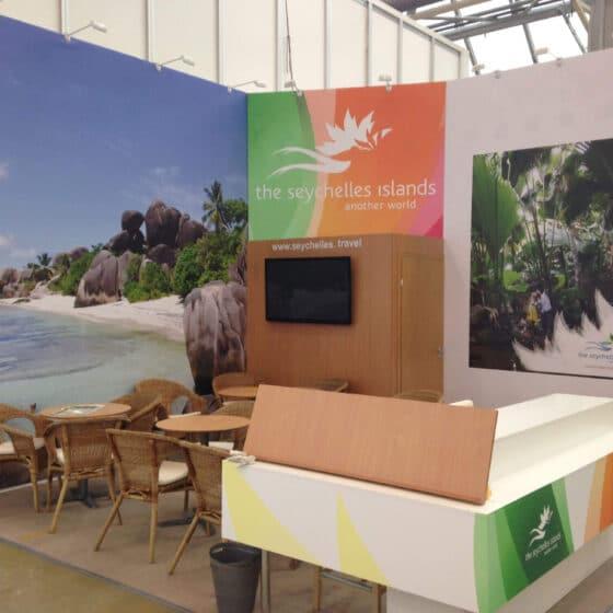 Стенд Seychells Islands на выставке MITT