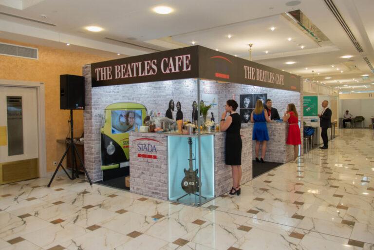 Стенд Stada The Beatles Cafe на конгрессе Российского Общества Урологов