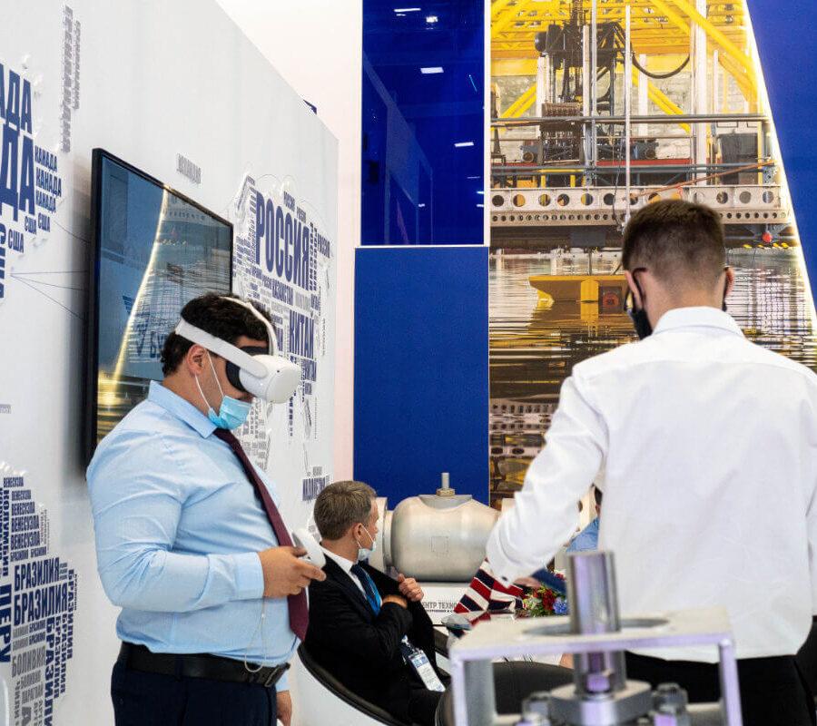 Буревестник на Международном военно-морском салоне МВМС 2021 9
