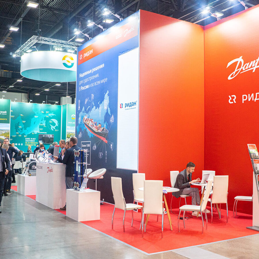 Стенд Ридан Danfoss на выставке Нева 2021 1