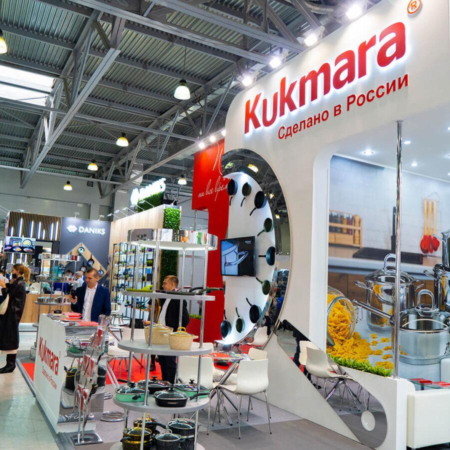 Стенд Kukmara на выставке HouseHold Expo 5