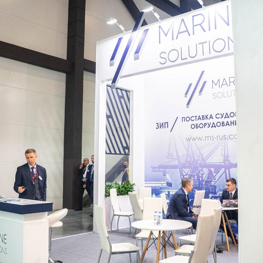 Стенд Marine Solutions на выставке Нева 2021 3