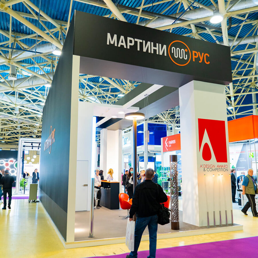 Стенд Martini Rus на выставке Interlight Russia 6
