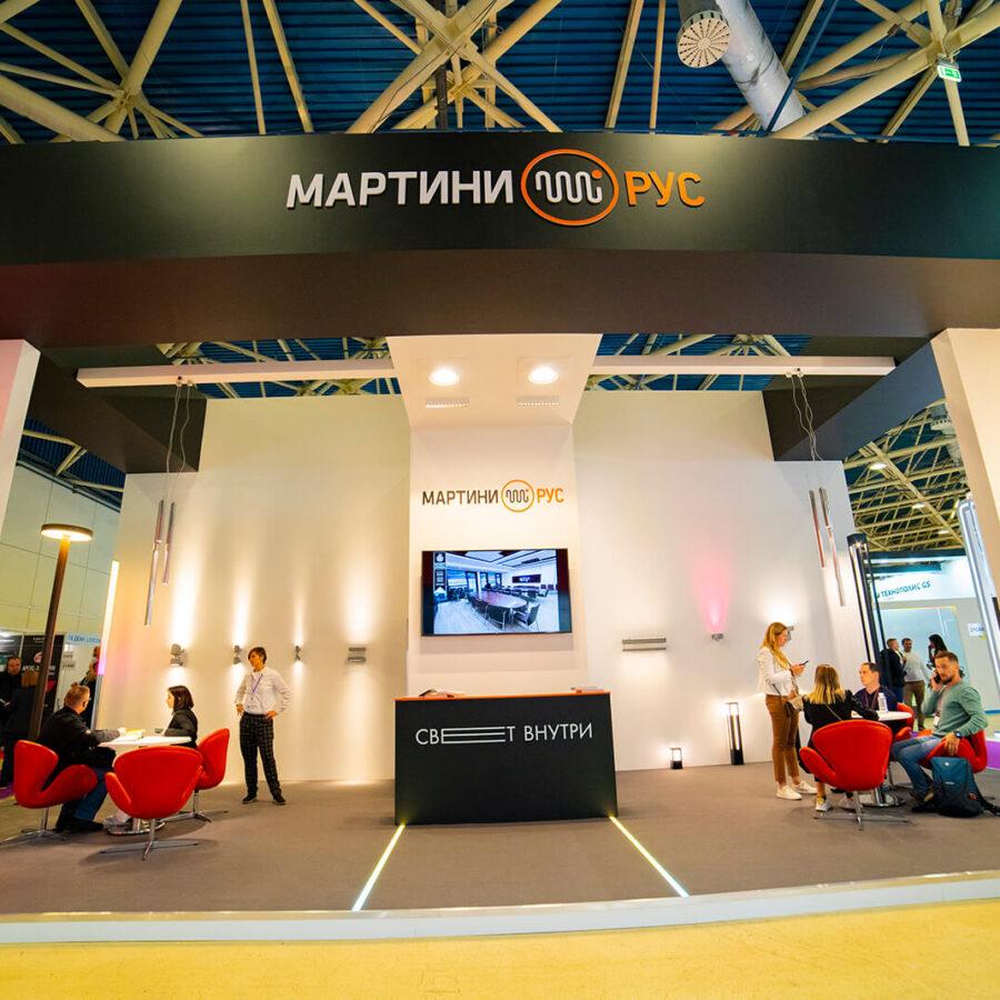Стенд Martini Rus на выставке Interlight Russia 7
