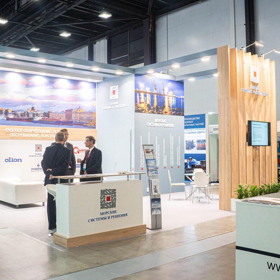 Стенд Морские системы и решения на выставке Нева 2021 1