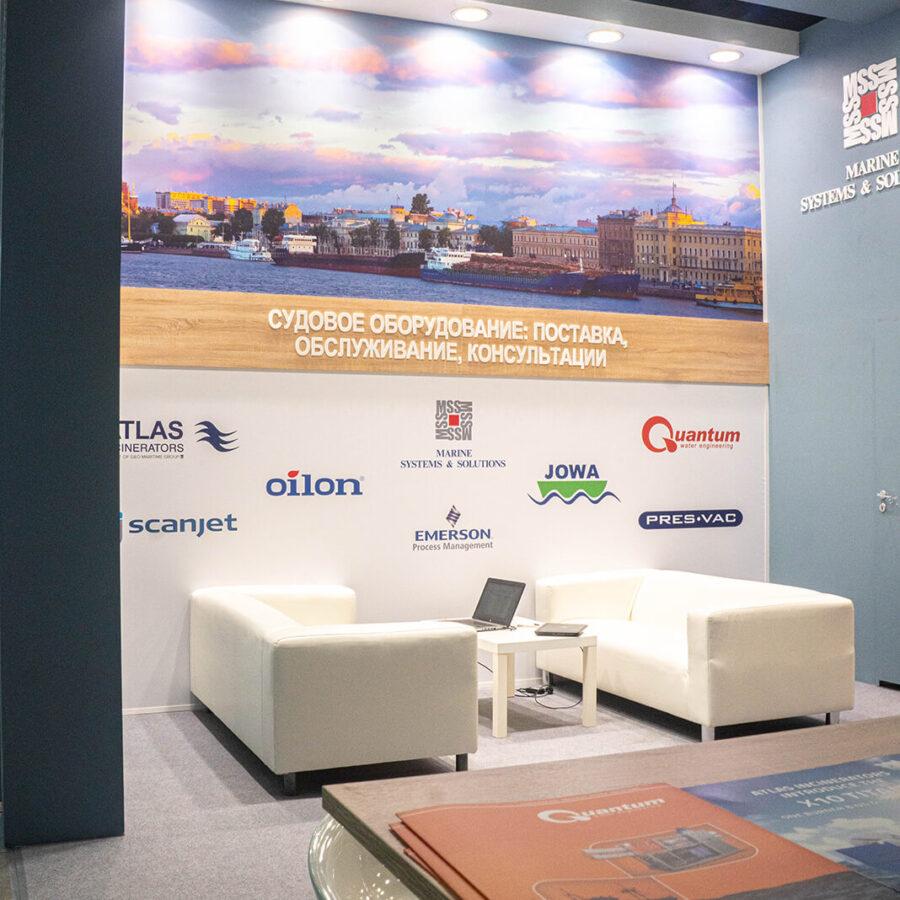 Стенд Морские системы и решения на выставке Нева 2021 4